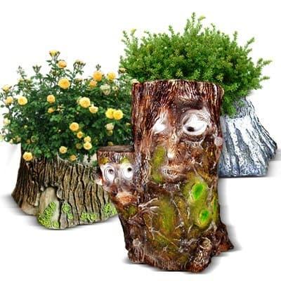 Пеньки - садовые фигуры