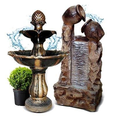 Интерьерные фонтаны