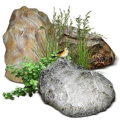 Камни и валуны декоративные