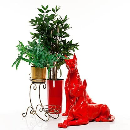 Подставки для 2 цветков