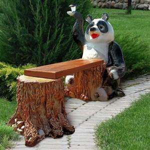 Скамейка для дачи Панда