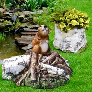 Комплект садовых фигур Бобер