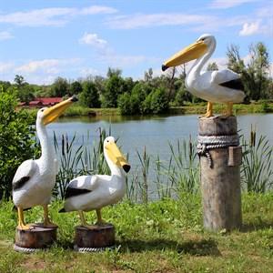 Комплект фигур пеликаны