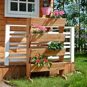 Деревянная садовая подставка купить онлайн