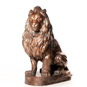 Парковая фигура Лев