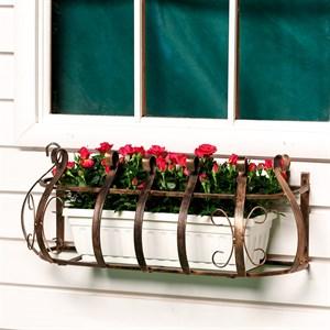 Кованый кронштейн для цветов