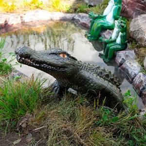 Фигура для водоема Крокодил