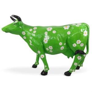 рекламная фигура корова ромашка