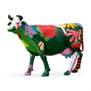 ростовая рекламная фигура коровы