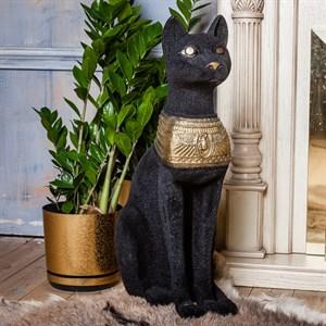 Бархатная фигура Кошка