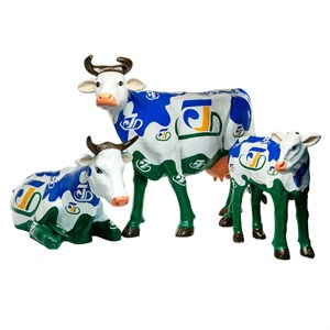 комплект фигур коровы