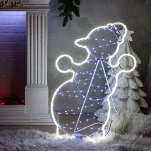Фигура световая Снеговик